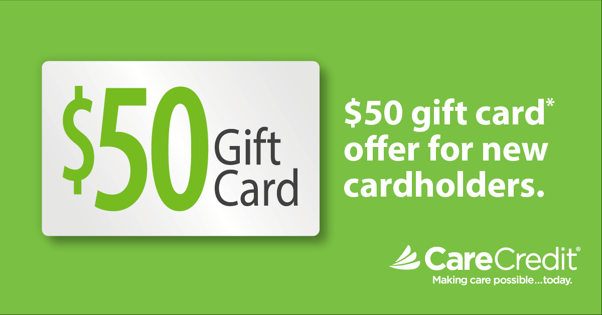 Care Credit free $50 gift card